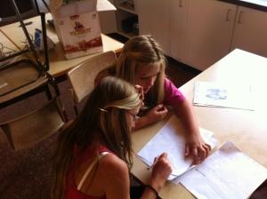 Å løse problemer krever konsentrasjon og samarbeid