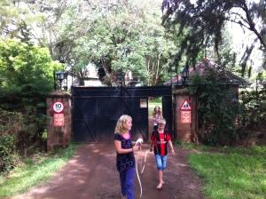 Vi måtte ut av porten for å plassere den siste planeten